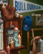 Bull Durham Criterion Collection Blu-ray 2018 Kevin Costner Tim Robbins Susan