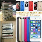 Latest Apple Ipod Touch 7th Gen 32gb 128gb 256gb Mp3 Mp4 Player - All Colors