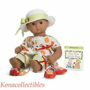 American Girl Bitty Baby Bugs And Butterflies Outfit New No Shoes