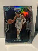 2020-21 Prizm Basketball Lamelo Ball Silver Holo Rc Rookie Card 278
