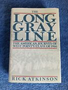 The Long Gray Line By Atkinson, Rick Book Hc Dust Jacket Free Ship Nice