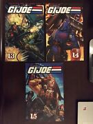 Classic Gi Joe Vol 13 14 And 15 Collects Marvelandrsquos A Real American Hero 124-155