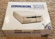 Commodore 1581 3 1/2 Floppy Disk Drive - Working Tested Read Description