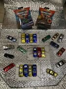 Hot Wheels Monster Jam Lot 2grave Digger And Zombie Includes Fully Crushable Cars