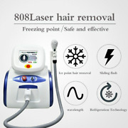 Portable 808nmdiode Leaser Hair Removal Machine Professional Hair Removal Device