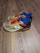New Balance 990v5 Brown Orange Blue Menandrsquos/youth 4 Wide-gc990wc5