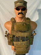 Tyr Tactical Coyote Pico Plate Carrier With Soft Armor And Pouches Lg/xl