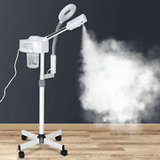 pro 2 In 1 Facial Steamer 5x Magnifying Lamp Hot Ozone Machine