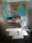 Vintage Milton Bradley 1984 Axis And Allies Spring 1942 Wwii Board Game