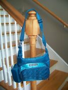 Lug Sidecar Green Bag Pockets Compartments Never Been Used