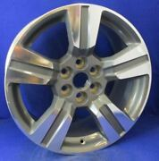 15 -17 Colorado Canyon Wheel 18x8-1/2 Machined And Gray Opt Pzx 22901345 Oem 5673