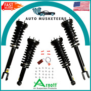 Front And Rear Air Spring Coil Spring Conversion Kit Arnott 32745 For Jaguar Xj