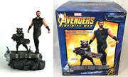 Marvel Premier Collection Avengers Infinity War Thor And Rocket Raccoon Statue