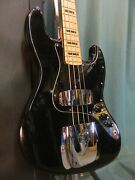 1976 Fender Jazz Bass Replaced Neck Blocks And Bound Ready To Play