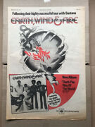 Earth Wind And Fire That's The Way Of The World Poster Sized Original Music Pres
