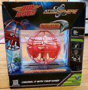 Air Hogs Atmosphere Auto Hover Toy Red New