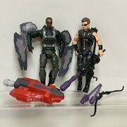 Marvel Avengers Age Of Ultron Hawkeye And Falcon Tru Exclusive 3.75 Figures Toys