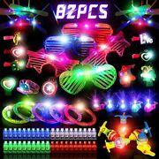 82pcs Led Light Up Toys Party Favors,glow In The Dark Party Supplies Kids/adults
