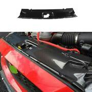 For Ford Mustang 2015-2021 Dry Carbon Fiber Bonnet Hood Water Tank Cover 1pcs