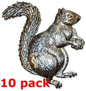 Metal Stampings Squirrel Tree Ground Flying Rodents Steel .020 Thickness A19