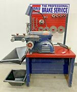 Ammco 7500 Rotor And Disc Brake Lathe W/ Hubless Adapter Kit And Bench