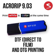 Acrorip 9.03 Software Genuine Dtg Dtf Program Direct To Film And Garment Printing