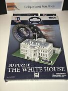 The White House 3d Puzzle Souvenir Easy Assembly Cf060h 64 Pieces By Daron