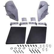 Brand New Snow Plow Blade Wing Extensions Extenders Fit Pw22 Pro Wings Wing