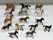 15 2000's Schleich Toy Foal Horse Lot D-73527 Germany Lot 5