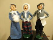 Byers Choice Lot Of 3 Carolers Holiday 12