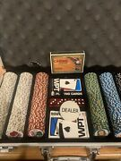 World Poker Tour Cards Welcome To Las Vegas Chips Set 1s 5s 10s 25s 100s