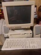 Working Vtg Apple Macintosh Performa 6216c With All Accessories