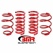 Bmr Sp763r Lowering Springs Set Of 4 Min Drop Front For 2015-2018 Mustang New