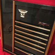 Snap-on 75th Anniversary Miniature Tool Box Small Cabinet Vintage