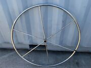 Sailboat Stainless Steering Wheel 5 Spoke 42andrdquo One Inch Straight Shaft