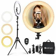 Ring Light 18 Inch 65w Led Ringlight Kit With Tripod Stand With Phone Holder ...