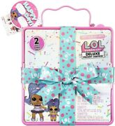 Lol Surprise Deluxe Present Series 2 Slumber Party Theme Doll And Lil Sis Jun.421