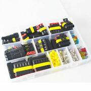 Waterproof Automotive Wire Connector Plug 1-6 P With Electric Sets 216 Pcs