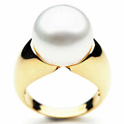 14mm Genuine Pacific Pearls® South Sea White Pearl Rings 20 Off All Pearl...
