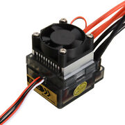For Rc Car Boat Brush Esc Motor Double Way 320a Speed Controller W/ Cooling Fan