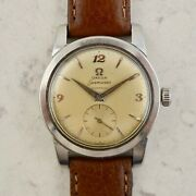 C.1954 Vintage Omega Seamaster Automatic Watch Ref. 2576-8 Cal. Andomega 351 In Steel