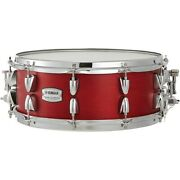 Yamaha Tour Custom Maple Snare Drum 14 X 5.5 In. Candy Apple Satin 194744353222