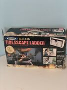 Werner 12-step 2 Story 1200 Lbs. Aluminum Fire Escape Ladder See Pictures