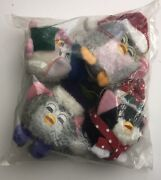 Furby Christmas Ornament 4-piece Set Rare 1999 Unopened In Sealed Bag