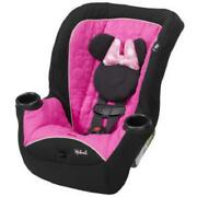 Disney Baby Car Seat Minnie Mouse Toddler Kids Large Convertible Travel Chair