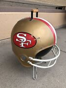 """San Francisco 49ers Grill Promo Nfl Tailgate Portable Bbq 2"""" Tall 50"""" Vintage 96"""