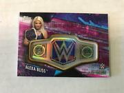 2020 Topps Wwe Womenand039s Division Alexa Bliss Belt Pink Patch 42/150