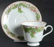 Hutschenreuther Noel Cup And Saucer 234385