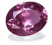 5.23ct Rosewood Pink Spinel Oval Shape Natural Unheated From Burma