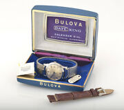 Vintage Bulova Automatic With Date And Box - Swiss Made-3 Months Full Warranty
